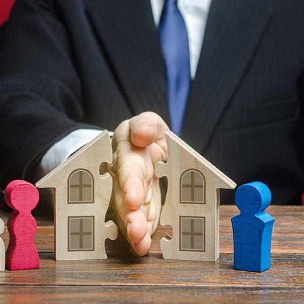 Immobilie und Scheidung: Was sind die Möglichkeiten?